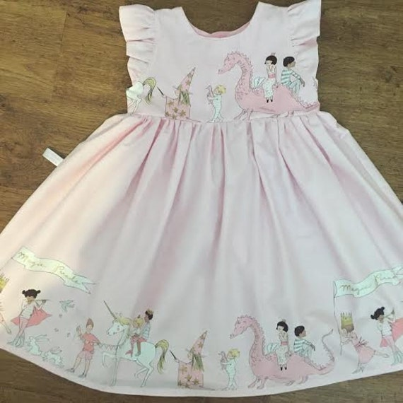 Girls Dress Baby Girl 1st Birthday Unicorn Outfit