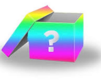 Mystery box for rainbow and unicorn lovers