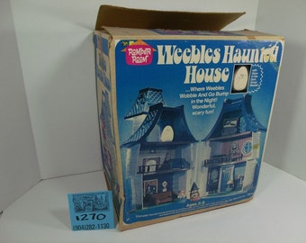 1970's Weebles Haunted House Box