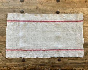 Antique Grain Sack Table Runner