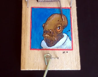 It's a trap! Star wars, Admiral Ackbar, actual trap!