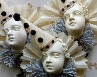 Classic Pierrot  Ornament