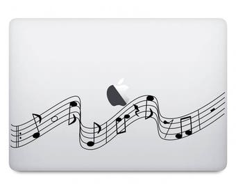 Music Notes Computer Decal