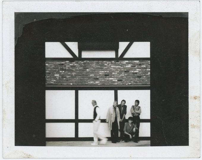 Vintage Polaroid Photo: Group, Framed (71542)