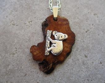 Silver plated panda pendant