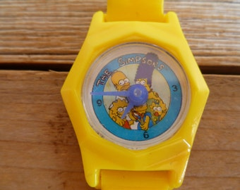 The Simpsons Plastic Toy Watch