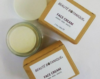FACE CREAM with Jasmin, Rose and Mastic