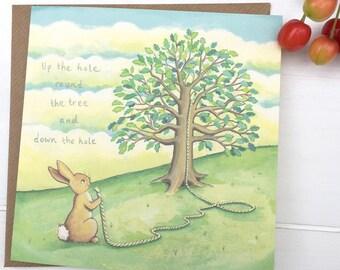 Greeting card, Bowline Bewilderment