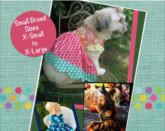 LaRae's Scalloped Dress Pattern for Dogs