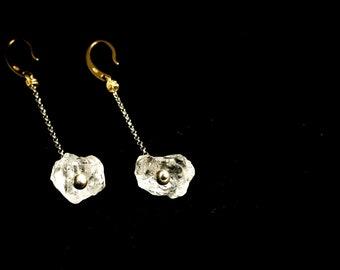 LOLLY earrings, amethyst jewel, quartz jewelry, orecchini