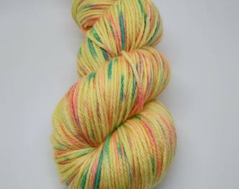 Funfetti Birthday Cake // Hand Dyed Yarn // DK Double Knit Ready to ship