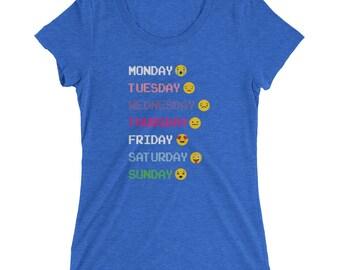 Daily Emoji Days of the Week