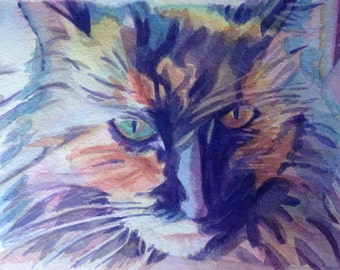 Lilly (original watercolor painting)