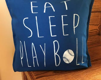 Baseball-Baseball Decor-Boy's Room Decor-Baseball Player-Gifts for Baseball Player - Pillows With Baseball-Sports Pillows-Baseball Gifts
