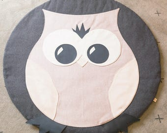 Hooty Owl Playmat 1200mm diameter