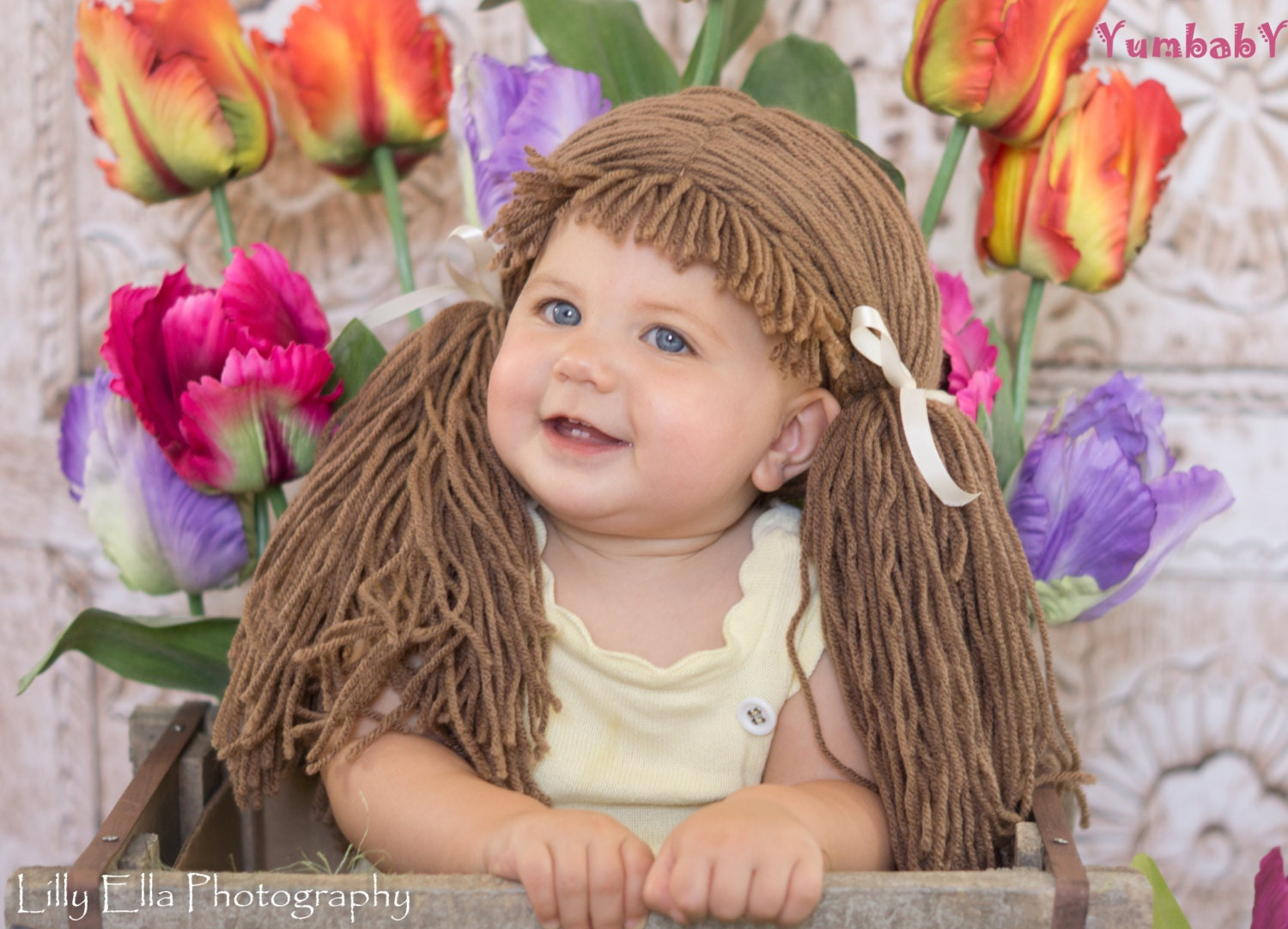 Enchanting Cabbage Patch Hats Crochet Pattern Gift - Great Sewing ...