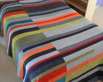 Mid-Century Modern Quilt (Take 2) - Made-to-Order