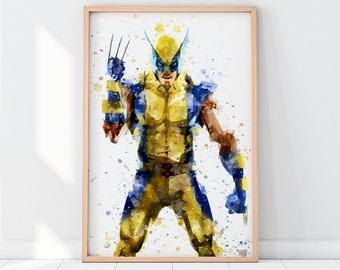 Xmen Print Wolverine Printable Xmen Printable Wolverine Poster Wlverine Wall Art Wolverine Posters Xmen Wall Art Wolverine X Men Print X Men