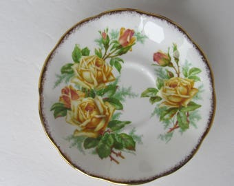 Royal Albert Tea Rose - 839056 - Bone China Saucer Made in England
