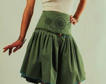 HELIO pleated skirt