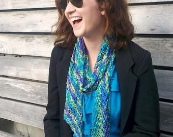 Knitting Pattern - Trellis Reversible Lace Scarf