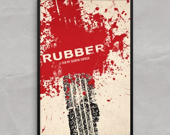 Rubber Movie Poster or Framed Print, Quentin Dupieux Poster