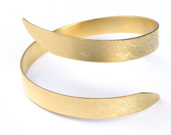 Goddess bracelet gold, Greek bracelet, gold cuff bracelet, adjustable bracelet, gold arm cuff, boho arm cuff, tribal cuff, gold bangle