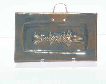 Primitive Fish in Antique glaze