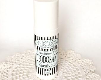 Eucalyptus Deodorant | MOM Deodorant | Aluminum-Free Deodorant | Vegan Deodorant | Heirloom Deodorant