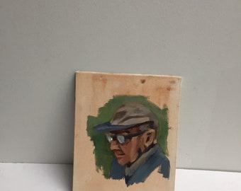 Oil portrait // original painting