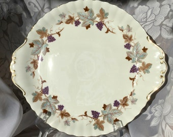 English Bone china Royal Albert Lorraine cake plate