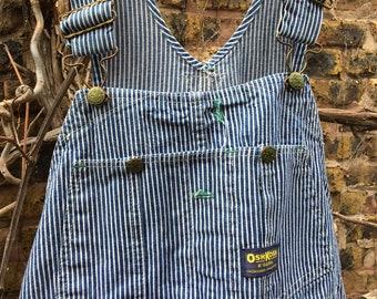 Reserved for Alex 34 x 30 Striped Osh Kosh overalls / engineer overalls / striped overalls / Osh Kosh overalls / overalls / Osh Kosh