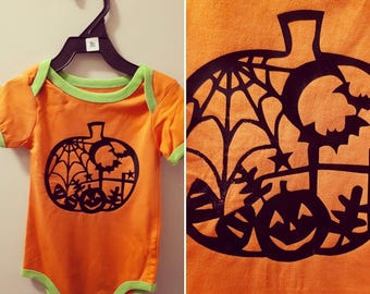 Adorable Halloween Baby Onesie