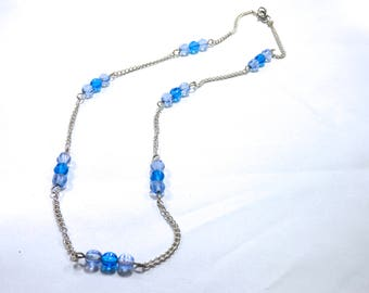 Two Blues Necklace