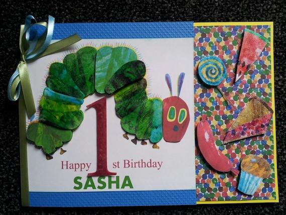 Hungry Caterpillar Birthday Card Hungry Caterpillar Baby
