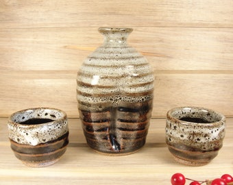 Sake set, Japanese sake set, Gift ideas.