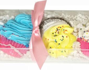 6 Pack Limited Edition Cupcake Bath Bomb Set