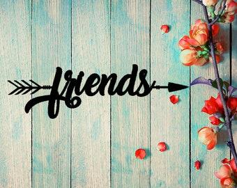 Friends Arrow Wall Art (B51