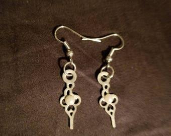 Pearl Hands Earrings
