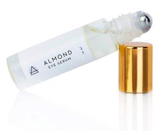 Almond Eye Serum - Erase Dark Circles | Gift for Her | Gift for Mom |  Under Eye Serum | Dark Circles | Under Eye Roll On
