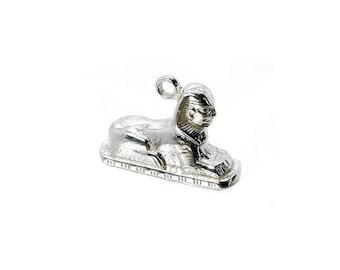 Sterling Silver Sphinx Charm For Bracelets
