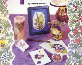 Pressed Flowers DIY Booklet with Projects Design Originals 3059