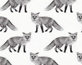 Fabric by the Yard -- Animal Kingdom -- Fox in Shadow