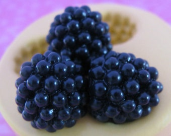 Blackberry Mold Silicone Berry Mold DIY Cabochon Resin Soap Wax Mold DIY Berry Wax Melts