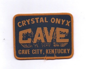 Vintage Crystal Onyx Cave City Kentucky Patch