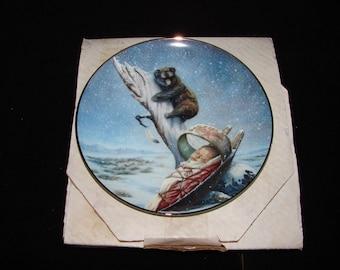 Snowflake by Perillo 1989 Perillo Christmas series collector plate