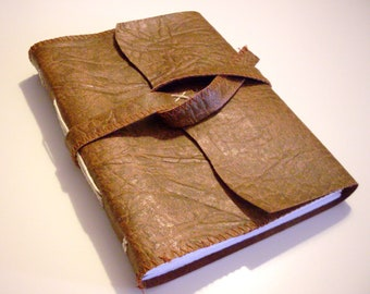 Book of Travels, Faux leather Journal