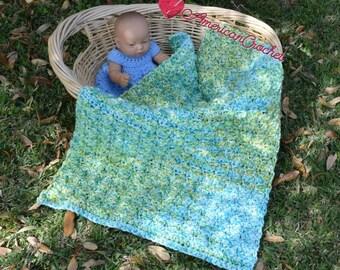 Serendipity do dah Baby Blanket Crochet Pattern