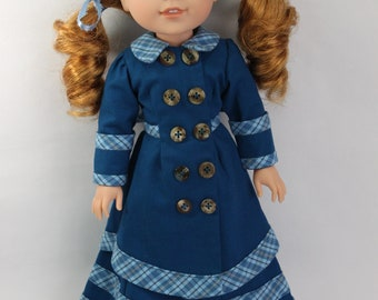 Historical Dress 1800s for 14.5 inch Dolls