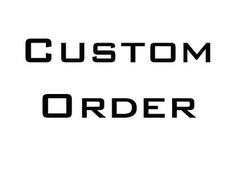 Custom order for Rajni Alex Design